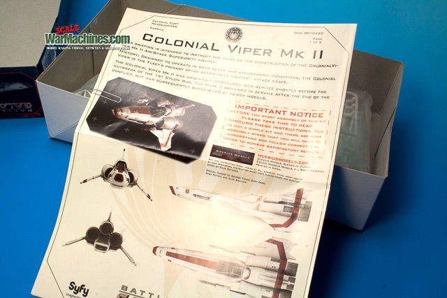 Moebius Battlestar Galactica Viper MkII 1:32