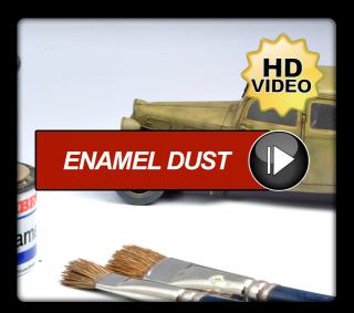 Enamel Dust Technique