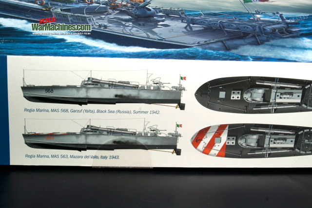 Italeri MAS 568 Review