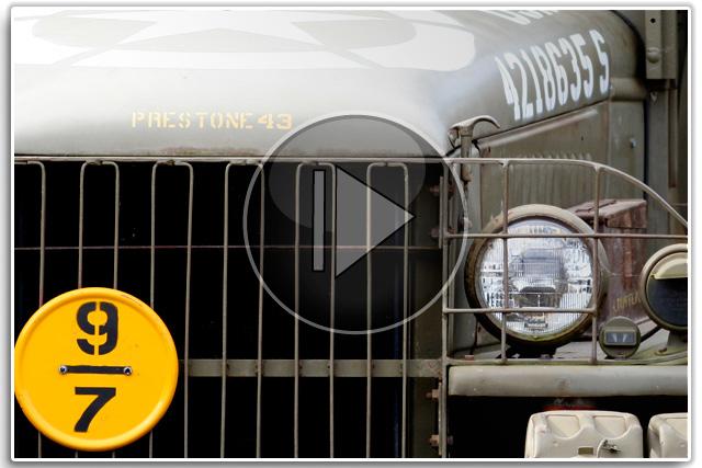 GMC 2.5t Truck with Leroi Compressor