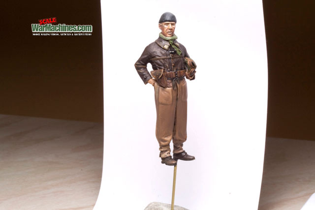 Painting Leather & Uniforms With Acrylics