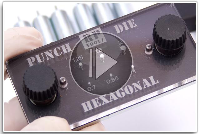 RPToolz Hexagonal Punch & Die
