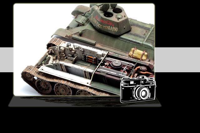 Hobbyboss T-34/76 1943 Factory No.112