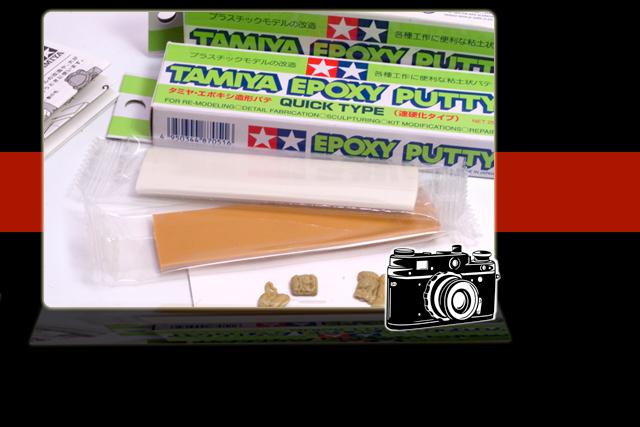 Tamiya Quick Type Putty