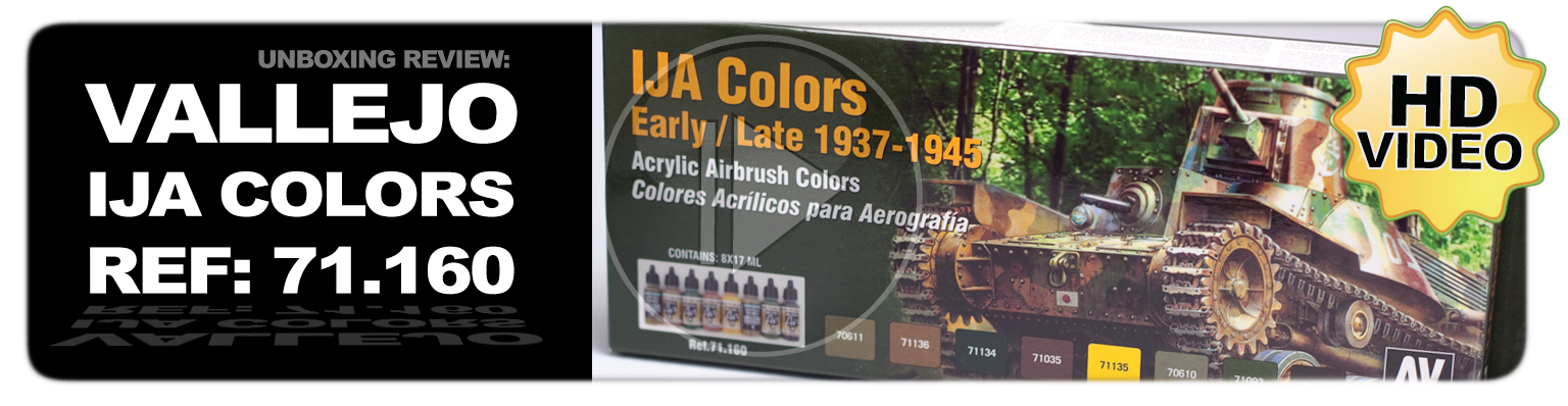 Vallejo IJA Colors Early/Late 1937-1945