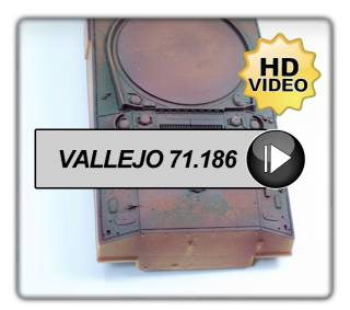 Vallejo Rust & Chipping Set Ref: 71.186